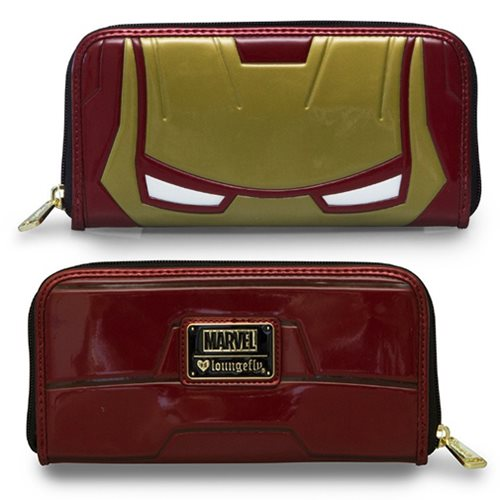 Iron Man Zip-Around Wallet