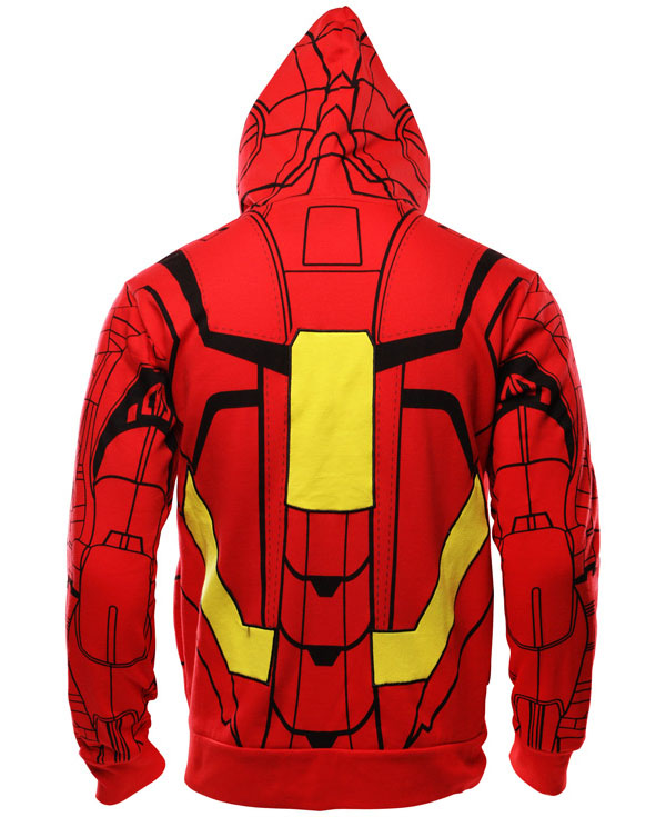 Iron Man Zipper Hoodie