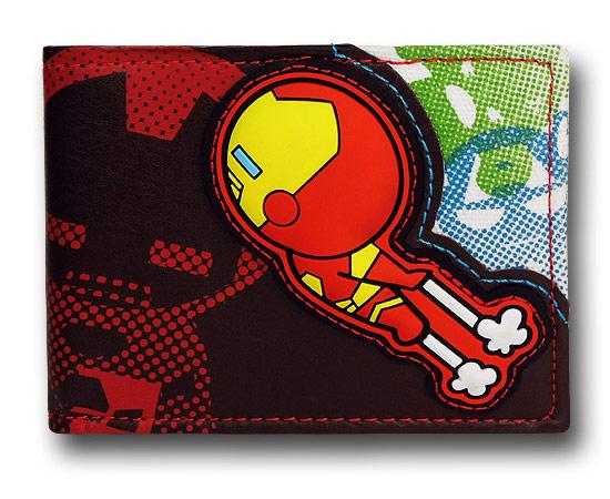 Iron Man and Friends Kawaii BiFold Wallet