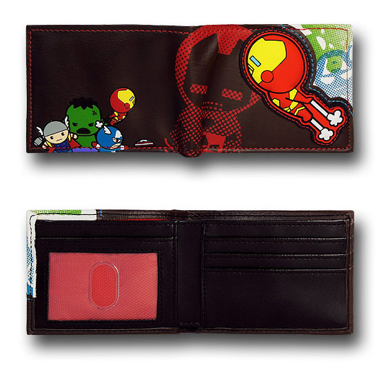 Iron Man and Friends Kawaii Wallet