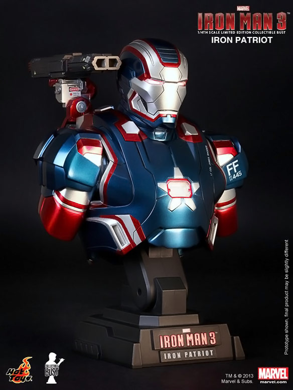 Iron Patriot Collectible Bust