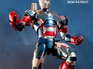 Iron Patriot DIECAST Movie Masterpiece Series Sixth Scale Figure