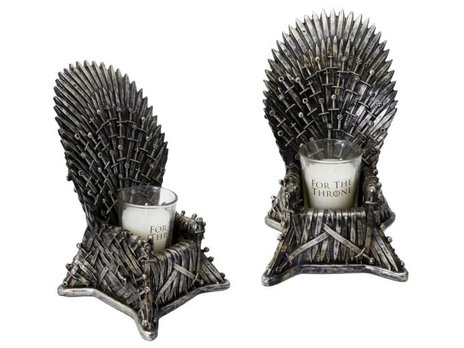 Iron Throne Candle Holder from Game of Thrones