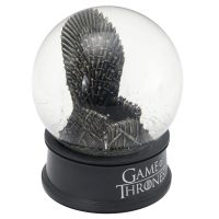 Iron Throne Musical Snow Globe