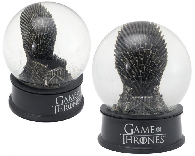 Iron Throne Musical Snow Globe from Game of Thrones