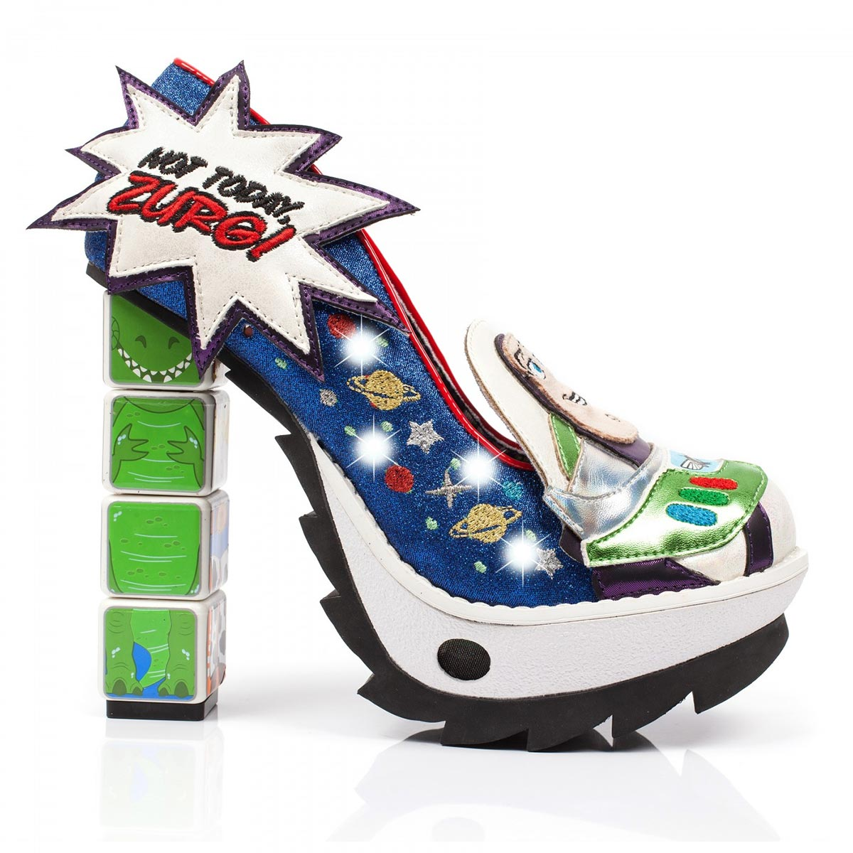 184021e1f27 Toy Story Arch Enemies Light-Up Heels