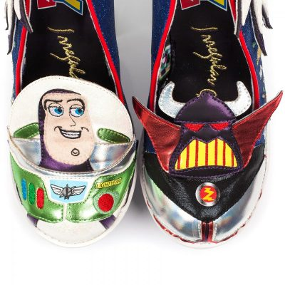 Irregular Choice Toy Story Buzz Zurg Heels