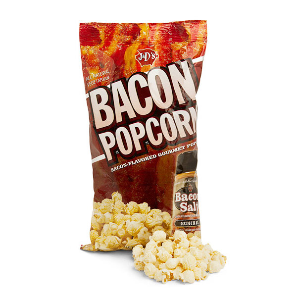 J&D's Original Bacon Flavored Popcorn