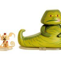 Jabba The Hutt & Salacious Crumb Vinyl Figures