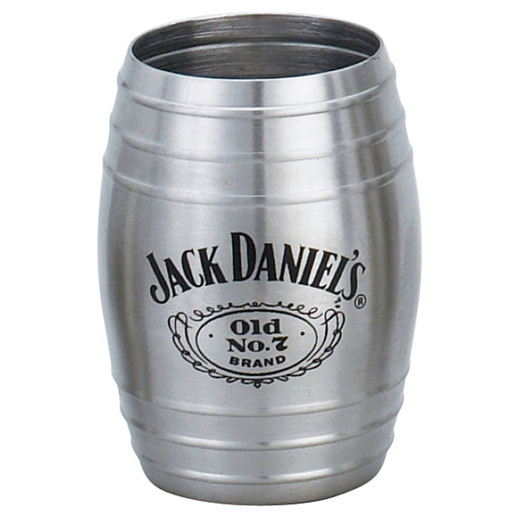 Jack Daniel's Stainless Steel Barrel Shot Glass