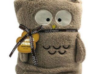 Jack & Friends Cuddly Blanket Owl