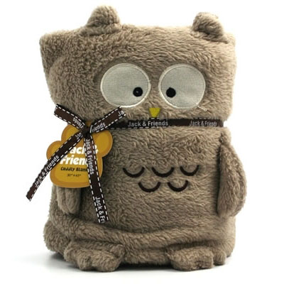 Jack & Friends Cuddly Blanket Owl