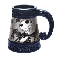 Jack Skellington Ceramic Stein