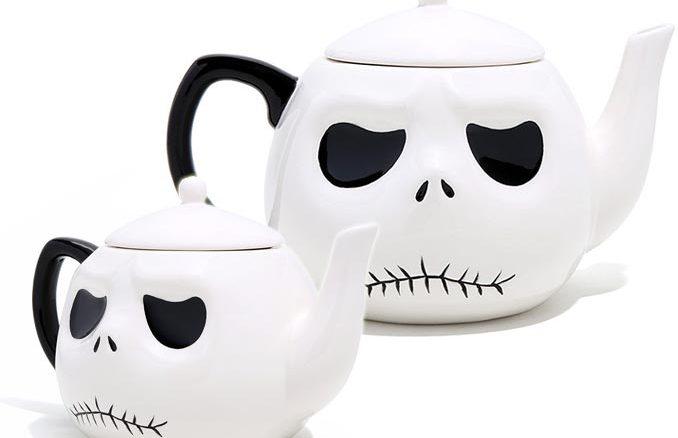 Jack Skellington Head Teapot