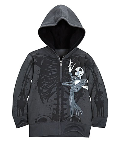 Jack Skellington Fleece Hoodies