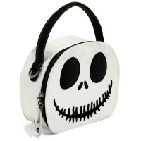 Jack Skellington Mini Hatbox Crossbody Bag