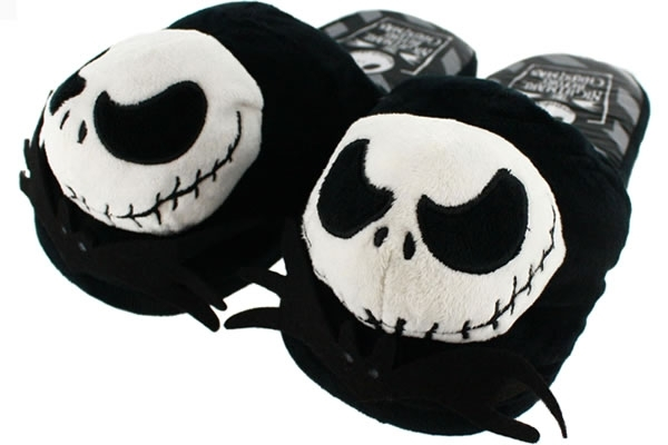 Jack Skellington Plush Slippers