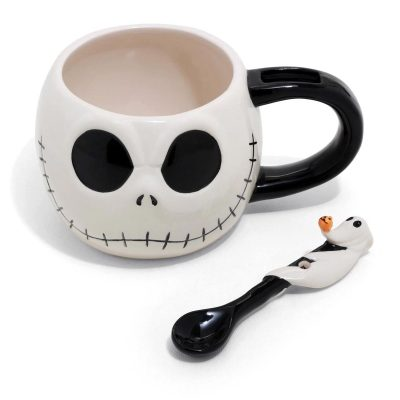 Jack Skellington Zero Spoon Soup Mug