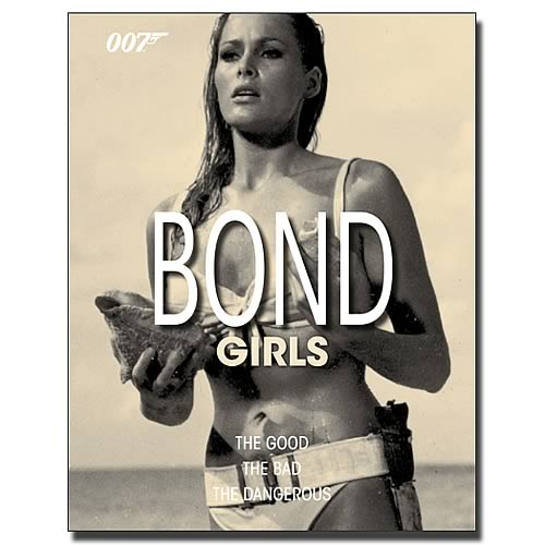 James Bond Girls Hardcover Book