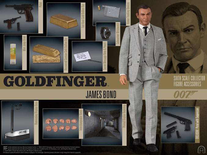 James Bond Goldfinger James Bond Action Figure