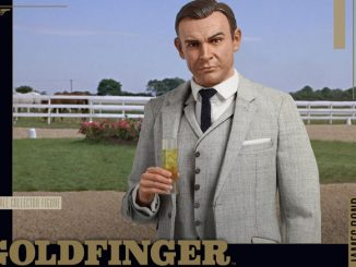James Bond Goldfinger Movie Action Figure