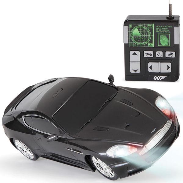 James Bond Remote Controlled Stunt Car