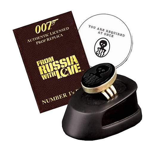 James Bond SPECTRE Ring Limited Edition Prop Replica