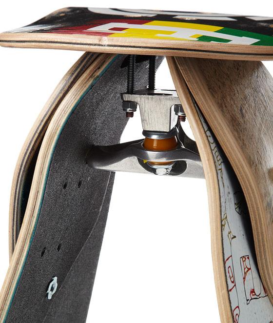 Jason Podlaski Skateboard Stool