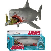 Jaws Bloody Quint and Shark ReAction Figure