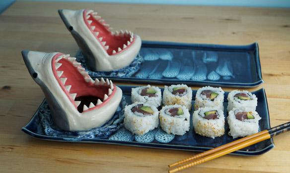 Jaws Shark Sushi Plate