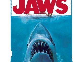 Jaws Throw Blanket