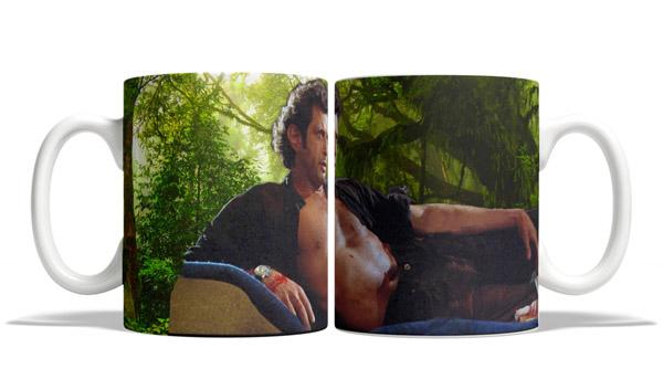 Jeff Goldblum Ian Malcolm Jurassic Park Mug