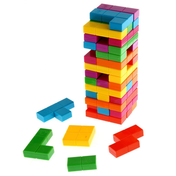 Jenga Tetris Game