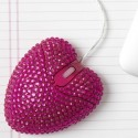 Jeweled Heart Mouse