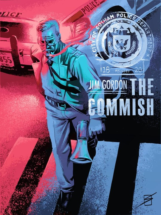 Jim Gordon The Commish Art Print