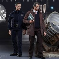 John Blake and Jim Gordon Figures with Bat-Signal Collectible Set