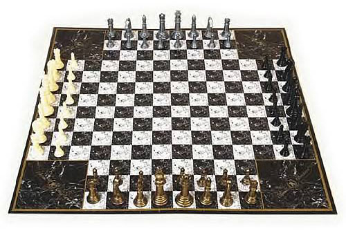 John N Hansen Chess 4 Game