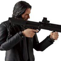John Wick MAFEX Action Figure Gun