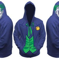 Joker All View Men's Zip Hooded Sweatshirt