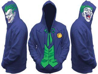 Joker All View Men's Zip Hooded Sweatshirt