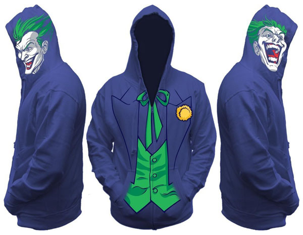 Joker Men's Zip Hooded Sweatshirt