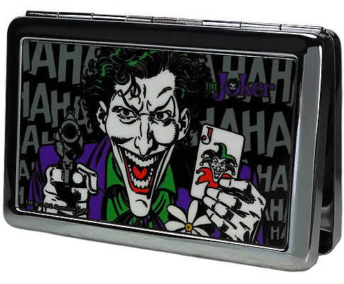 Joker Business Card Holder