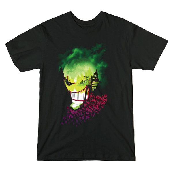Joker City of Smiles Shirt