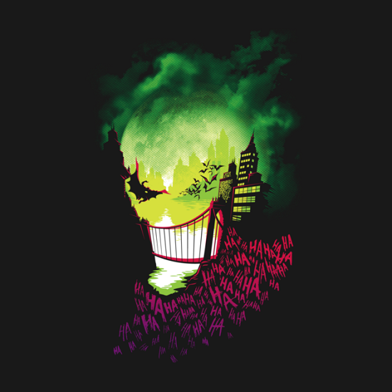 Joker City of Smiles T-Shirt