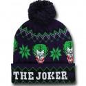 Joker Cuff Pom Pom Beanie