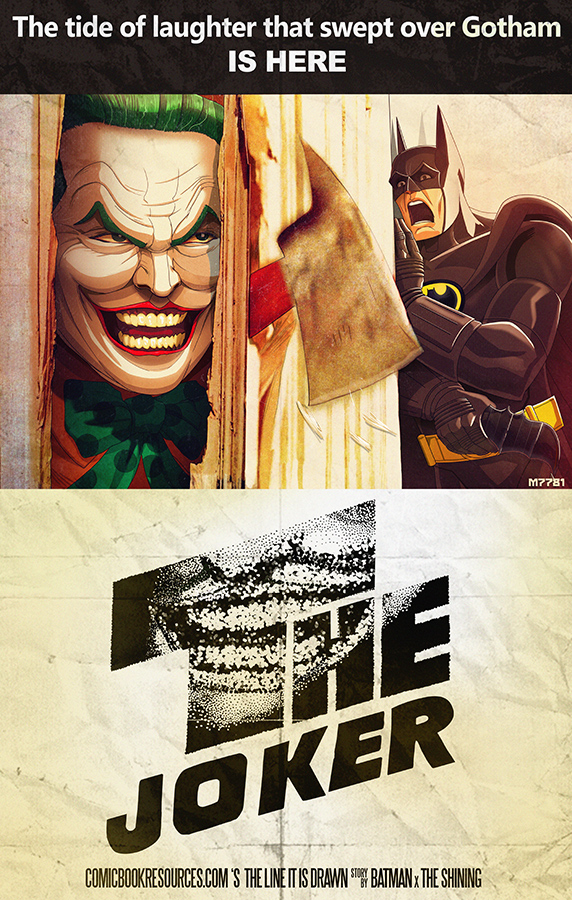 Joker The Shining Art Print