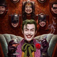 Joker Trophies Autographed Poster