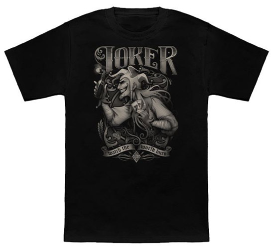 Joker Watch the World Burn Shirt