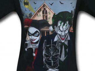Joker and Harley Quinn American Gothic T-Shirt