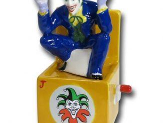 Joker in the Box Salt & Pepper Shakers